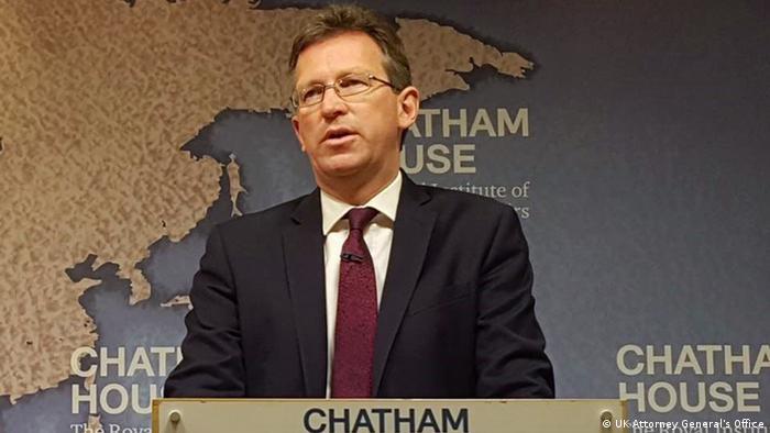 UK Generalstaatsanwalt Jeremy Wright