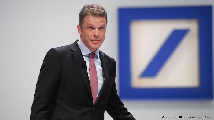 Obecny prezes Deutsche Bank Christian Sewing