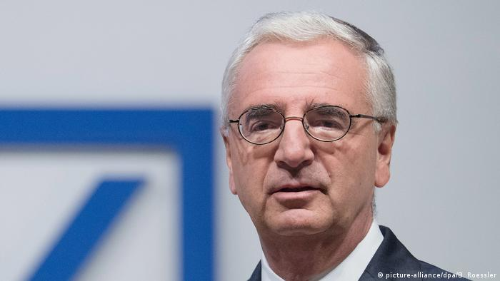 Deutsche Bank - Paul Achleitner (picture-alliance/dpa/B. Roessler)