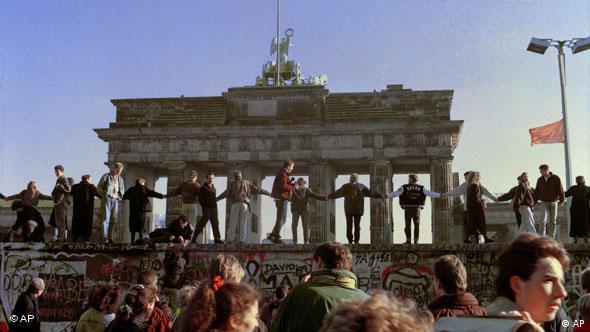 Deutschland Berlin Berliner Mauer Mauerfall Feier