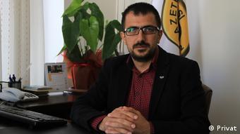 Türkiye Gazeteciler Sendikası (TGS) Başkanı Gökhan Durmuş