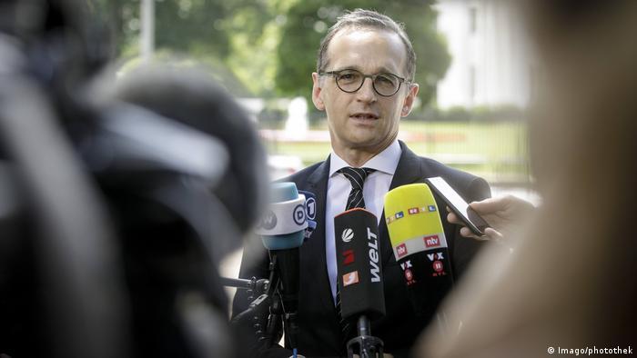 USA Besuch Außenminister Heiko Maas, SPD in Washington