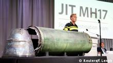Niederlande Westerbeke - PK in Bunnik zu MH17-Absturz 2014