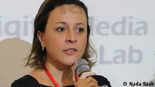 Cristina Tardáguila is the head of Brazil's first fact-checking agency Agência Lupa. (Nada Saab)