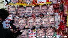 Fußball UEFA Europa League Jürgen-Klopp-Masken