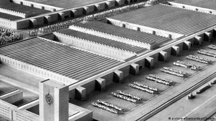 Макет завода Volkswagen, 1938 г.