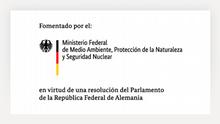 Partlerlogo BMU (Bundesministerium für Umwelt, Naturschutz und nukleare Sicherheit) es
