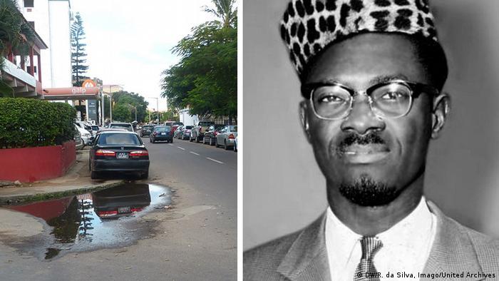 Kombo - Avenue Patrice Lumumba in Mosambik und Patrice Lumumba