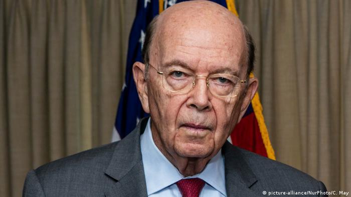 وزير التجارة الأمريكي السابق ويلبور روس
