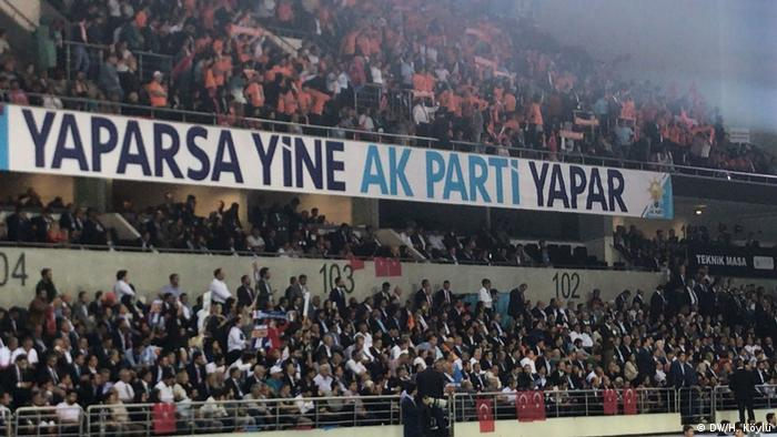 Türkei Erdogan Wahlprogramm Rede in Ankara (DW/H. Köylü)