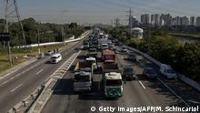 Brasilien LKW Fahrer Streik Spritpreise