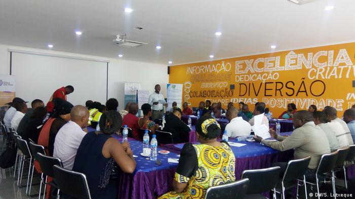 Mosambik - Treffen in Nampula