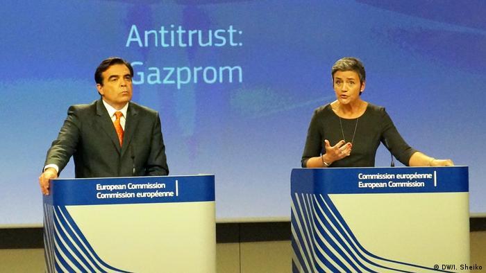 Во время пресс-конференции в Брюсселе 24 мая 2018 года