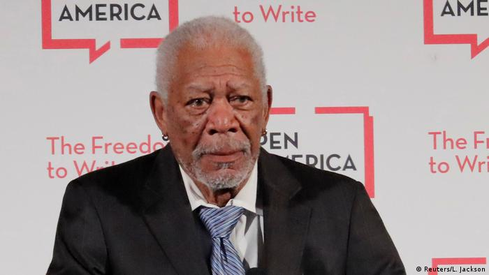 Morgan Freeman PEN America Gala (Reuters/L. Jackson)