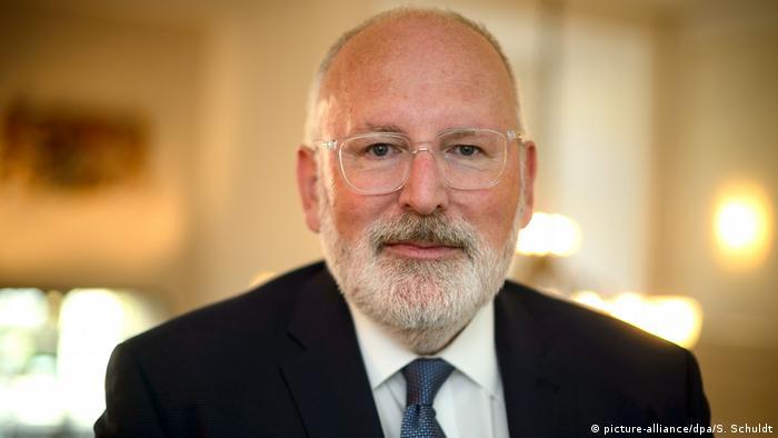 Frans Timmermans zapowiedział swój udział w kampanii wyborczej do PE w Polsce