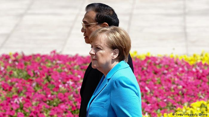 Peking Angela Dorothea bei Li Keqiang (Getty Images/L. Zhang)