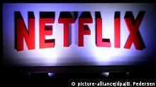 Das Netflix - Logo, aufgenommen am 10.11.2016 in Berlin. Foto: Britta Pedersen/dpa-Zentralbild/ZB | Verwendung weltweit