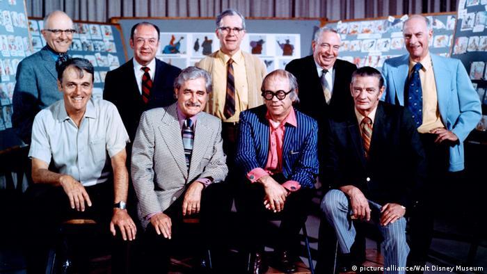Девять стариков Диснея, 1972 год