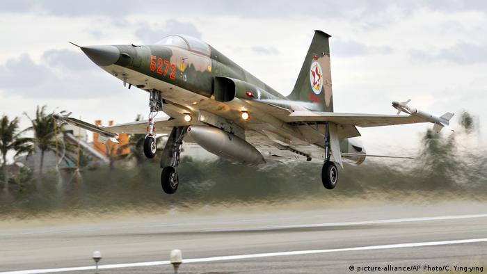 Taiwanese fighter jet