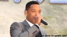 Will Smith mit Mikrofon