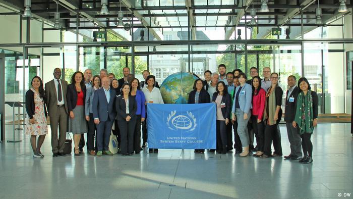 Deutsche Welle Bonn - Medientraining der DW Akademie mit UN-Führungskräften für UNSSC