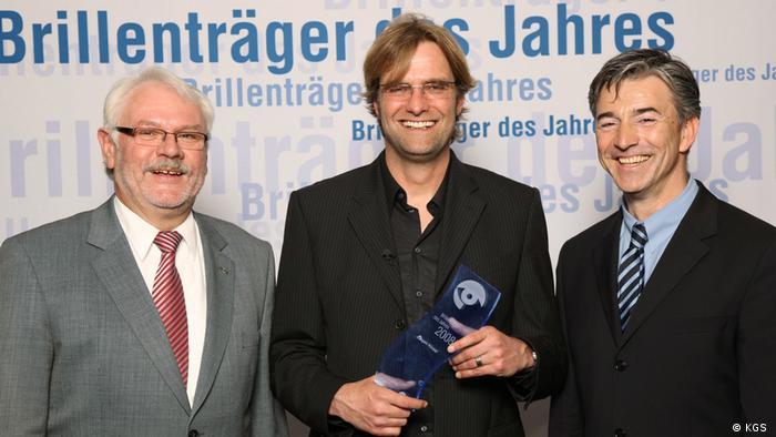 Jürgen Klopp 2008 – Brillenträger des Jahres (KGS )