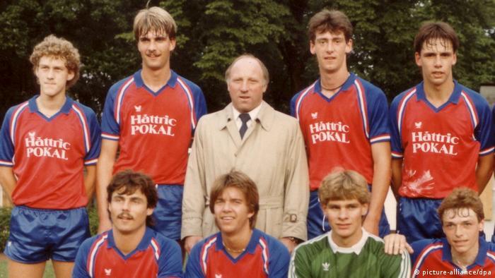 Jürgen Klopp als Jugendspieler (picture-alliance/dpa)