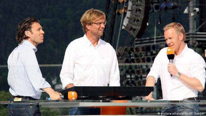 Österreich Bregenz EURO 2008 - Public Viewing mit Jürgen Klopp (picture-alliance/dpa/P. Seeger)