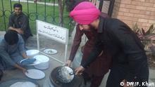 Pakistan Ramadan Iftar Sikh Gemeinde in Peschawar