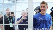 Trainingslager Nationalmannschaft - Pressekonferenz: Nils Petersen