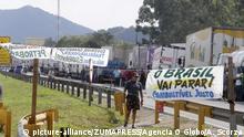 Brasilien - Benzinproteste