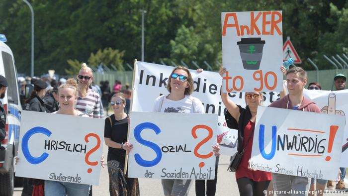 Protests against the Anker centers