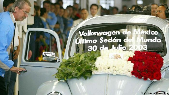 Mexiko Letzter VW Käfer (picture-alliance/dpa)