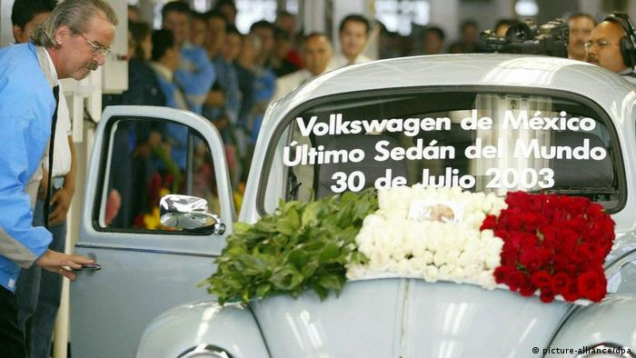 The last VW Beetle