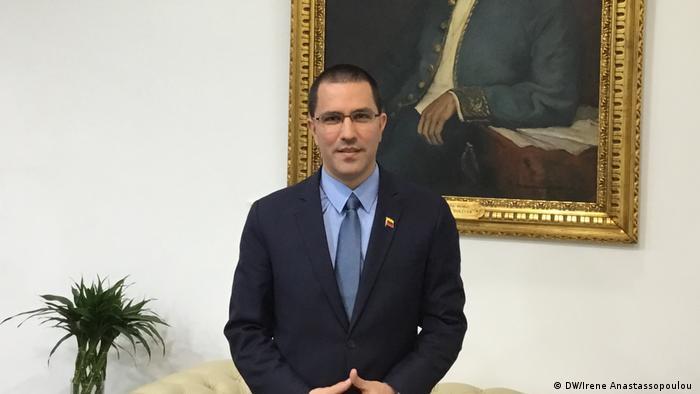 Venezuela Außenminister Jorge Arreaza