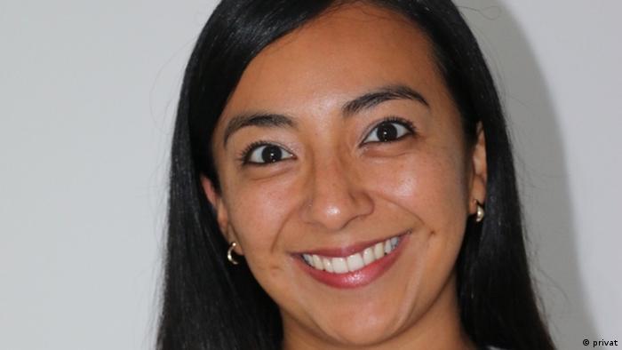 Viviana García Pinzón, politóloga del Instituto alemán de Estudios sobre América Latina, con sede en Hamburgo.