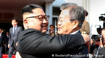 Treffen Regierungschefs Süd- und Nordkorea