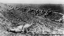 Erster Weltkrieg - Serbische Soldaten