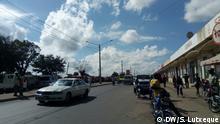 Mosambik Motorrad-Taxis in Nampula