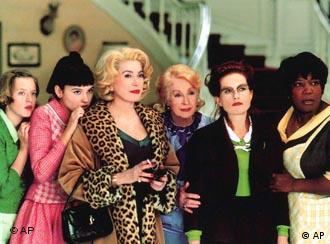Cena do filme 8 Femmes, do produtor François Ozon