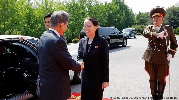 Treffen Regierungschefs Süd- und Nordkorea (Getty Images/South Korean Presidential Blue House)