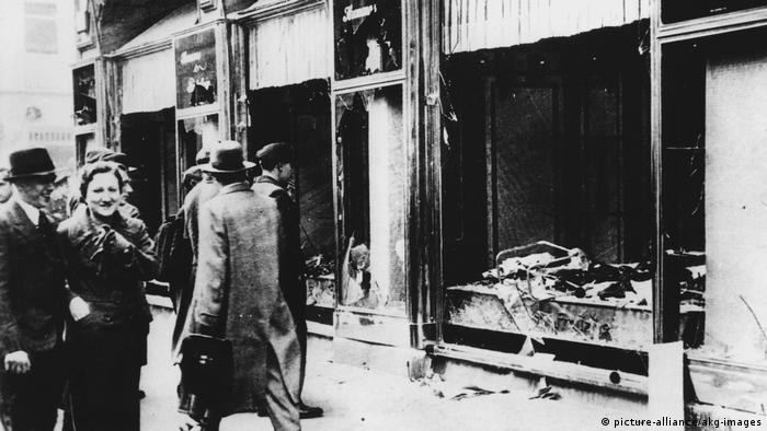 Berlin Nationalsozialismus Reichspogromnacht November1938 (picture-alliance/akg-images)