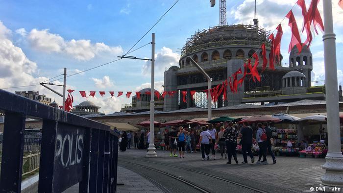 Türkei, Istanbul: Taksim Moschee
