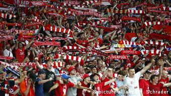 Ukraine, Kiew: Fußball: Champions League, Real Madrid - FC Liverpool Pokal (picture-alliance/M. Schrader)