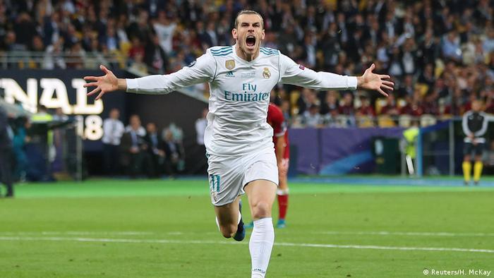 Champions League Final - Real Madrid v Liverpool- Jubel 2:1 (Reuters/H. McKay)