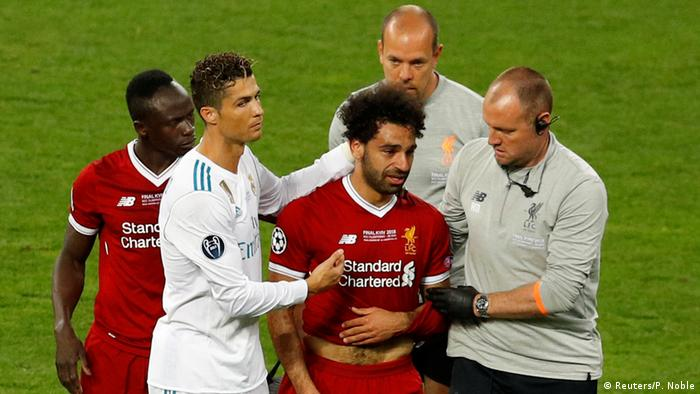 Champions League Final - Real Madrid v Liverpool - Verletzung Salah (Reuters/P. Noble)
