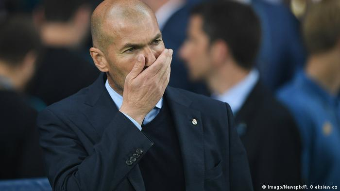 Champions League Final - Real Madrid v Liverpool - Zinédine Zidane (Imago/Newspix/R. Oleksiewicz)