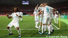 Champions League Final - Real Madrid v Liverpool- Jubel 2:1