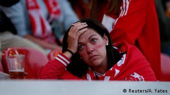Champions League Final - Real Madrid v Liverpool - Enttäuschter Fan