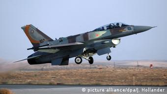 Израильский F-16 (фото из архива)